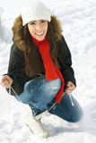 Winter fun Stock Photos