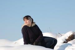 Winter fun Stock Photography