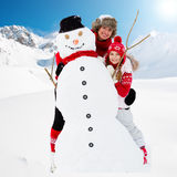 Winter fun Royalty Free Stock Image