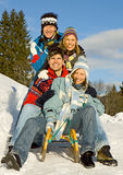 Winter Fun 9 Stock Images