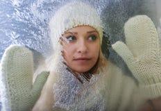 Winter fun. royalty free stock photo