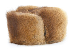 Winter fur hat Royalty Free Stock Photography