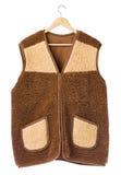 Winter fur vest Royalty Free Stock Images