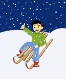 Winter games Stock Photos