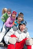 Winter games Royalty Free Stock Image