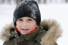 Winter Games Children Stock Photos