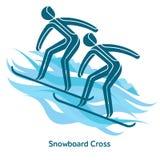 Winter games icon Stock Image