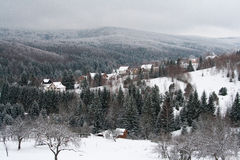 Winter Garana place Royalty Free Stock Images