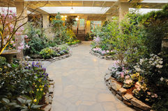 Winter garden Stock Photography