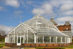 The Winter Garden, Glasgow Stock Photography