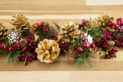Winter Garland Royalty Free Stock Images