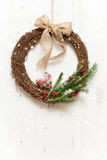 Winter Garland Stock Images