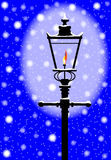Winter Gaslight Stock Photos