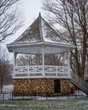 Winter Gazebo Lizenzfreie Stockfotos