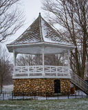 Winter Gazebo Royalty Free Stock Photos