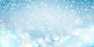Winter gentle background vector illustration