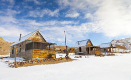 Winter Ghost Town Royalty Free Stock Images