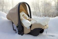 Winter gift Stock Image