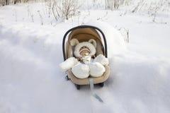 Winter gift Stock Photo