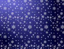 Winter gift paper stock photography