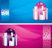 Winter gift Stock Photos