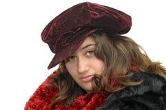 Winter girl Stock Photography