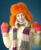 Winter girl Royalty Free Stock Images