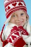 Winter girl Stock Images