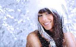 Winter girl Stock Image