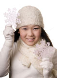 Winter girl Stock Photos