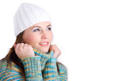 Winter Girl Royalty Free Stock Image