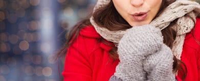 Winter girl Royalty Free Stock Image