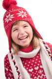 Winter girl portrait Stock Photo