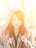 Winter girl. Royalty Free Stock Photography