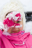 Winter girl3 Royalty Free Stock Images