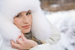 Winter glam Royalty Free Stock Image