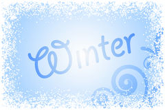 Winter glass Royalty Free Stock Photos
