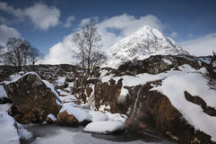 Winter in Glen Coe Royalty Free Stock Photos