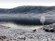 Winter at Glen Garry, Scotland Stock Photos