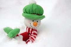 Winter glide Stock Photo