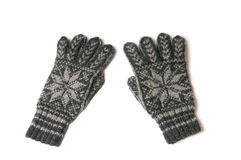 Winter gloves Stock Images