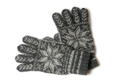 Winter gloves Royalty Free Stock Photos