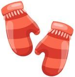 Winter gloves Royalty Free Stock Photos