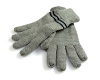 Winter gloves Stock Image