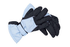 Winter gloves Stock Photos