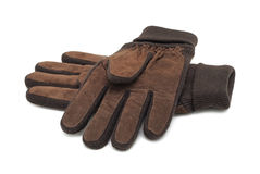 Winter gloves, isolated Stock Images