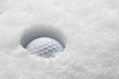 Winter golf Royalty Free Stock Photography