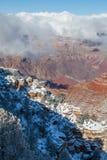 Winter at Grand Canyon South Rim Stock Images