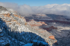 Winter at Grand Canyon Stock Photography
