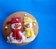 Winter grandma cookie Stock Photo